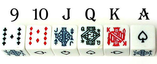 What is the Game of Poker Dice?